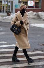 Nicky Hilton Looks stylish and all bundled up while out in Manhattan