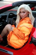 Nikita Dragun Out for shopping in West Hollywood
