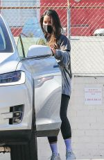 Olivia Munn Leaves her gym in West Hollywood