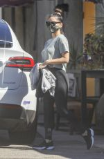 Olivia Munn Leaving a workout in West Hollywood