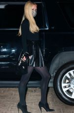 Paris Hilton Out for dinner with her fiance at Nobu in Mlaibu