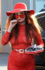 Phoebe Price Out for shopping at CVS in Los Angeles