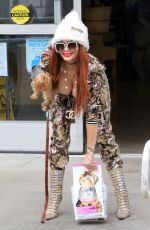 Phoebe Price Out for shopping at Petco in Los Angeles