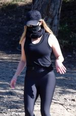 Reese Witherspoon Hiking with a friend in LA