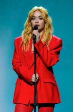 Rita Ora Performing at the Dancing On Ice TV Show in Hertfordshire