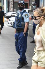 Rita Ora Walking out of her hotel in Sydney