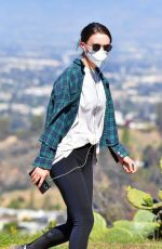 Rooney Mara Hiking out in Los Angeles