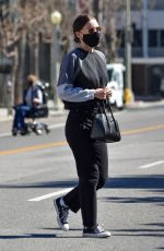 Rooney Mara In Black jeans out in Studio City