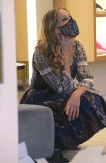 Sarah Jessica Parker Is working the floor at her store SJP Collections in The Seaport District in New York