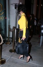 Saweetie Out for dinner at Catch LA in West Hollywood