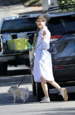 Selma Blair Seen walking her dog in Beverly Hills