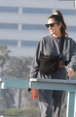 Shay Mitchell Does a photoshoot to market her new Onda Sparkling Tequila drink on the beach in Santa Monica