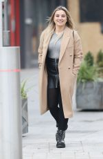 Sian Welby Seen at the Global Radio studios in London
