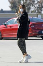 Sofia Vergara Takes her sick puppy to the vet in Los Angeles