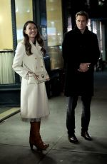 Sutton Foster On the set of