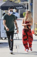 Tana Mongeau Out for lunch at Urth Cafe in Los Angeles
