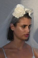 Taylor Hill At a photoshoot for Victoria