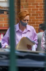 Tilda Swinton Spotted on set of George Miller