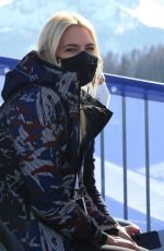 Valeria Mazza Seen in Cortina d