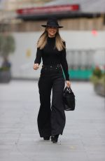 Vogue Williams Seen at the Global Radio studios in London