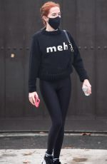 Zoey Deutch Going to an early morning workout session in LA