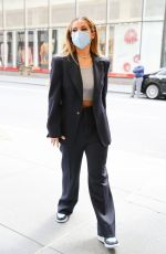 Addison Rae Arrives at NBC studios for her appearance at the The Tonight Show Starring Jimmy Fallon