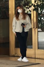 Addison Rae Spotted leaving Sunset Towers in West Hollywood