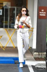 Alessandra Ambrosio At Caffe Luxxe in Brentwood