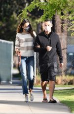 Alessandra Ambrosio Goes shopping for kitchen supplies at Williams-Sonoma in Los Angeles