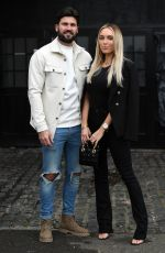 Amber Turner At The Only Way is Essex TV show filming in Brentwood