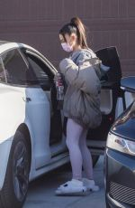 Ariana Grande Spotted at a friend