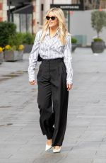 Ashley Roberts Pictured leaving the Global Studios after the Heart Radio Breakfast show in London