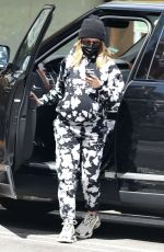 Ashley Tisdale Dons comfy tie-dye sweats as she stops for a smoothie after a Doctor