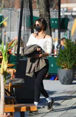 Bella Hadid Heads to lunch at Bar Pitti in NY