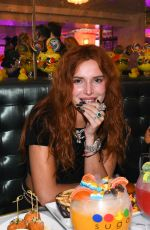 Bella Thorne Hosts DJ Set Debut and Listening Party at Sugar Factory Miami