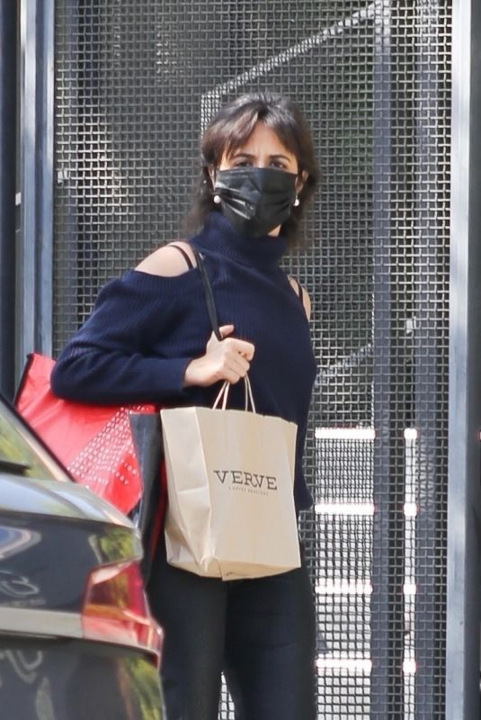 Camila Cabello Seen leaving Verve Cafe in West Hollywood