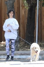Camila Cabello Walking her dog in LA