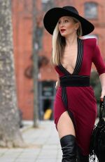 Caprice Bourret Spotted out and about in London
