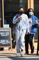 Chantel Jeffries Enjoys a girls day out in Los Angeles