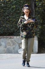Chantel Jeffries Out for a workout session with her personal trainer in Los Angeles