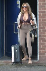Chloe Ferry Puts on a busty display as she is spotted leaving HD Photography Studio in Newcastle
