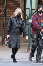Chloe Sevigny Out with her family in New York