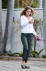Chrishell Stause Steps out after splitting with her TV co-star Keo Motsepe in Los Angeles