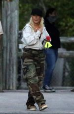 Christina Aguilera As they take daughter Summer to the Everglades Alligator Farm in Florida
