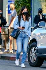 Courtney Cox Out in Melrose Place