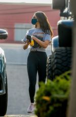 Eiza Gonzales Arriving her gym in West Hollywood