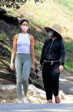 Eiza Gonzalez Out on a hike in Los Angeles