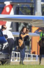 Elsa Pataky Jump on a jet to make their regular flight home to Byron Bay from Sydney