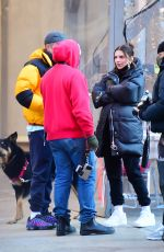 Emily Ratajkowski Out in New York with her husband
