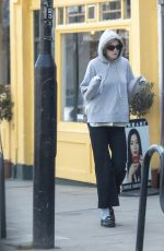 Emma Corrin Grabbing coffee out in North London